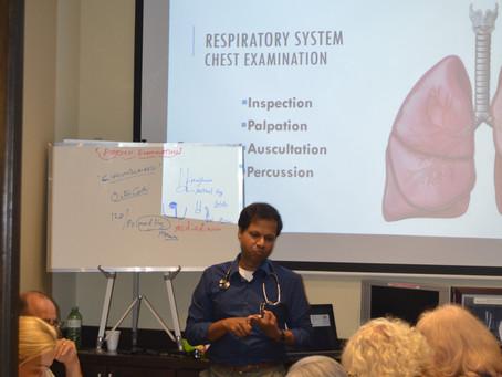 Physical Examination Referesher Training - by Sajeev Ampadi & Nishant Babusenan 30 July 2016
