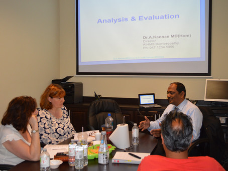 Making Repertorization Easy - Workshop by Dr. Kannan