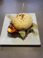Burger Nojo's au paleron de boeuf (origine France)