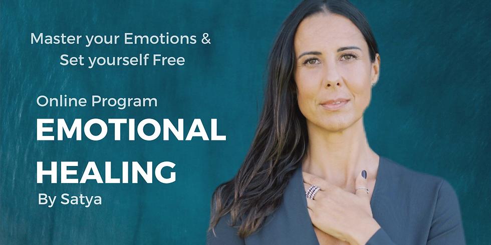 CURA EMOCIONAL - Programa Online  PORTUGÛES