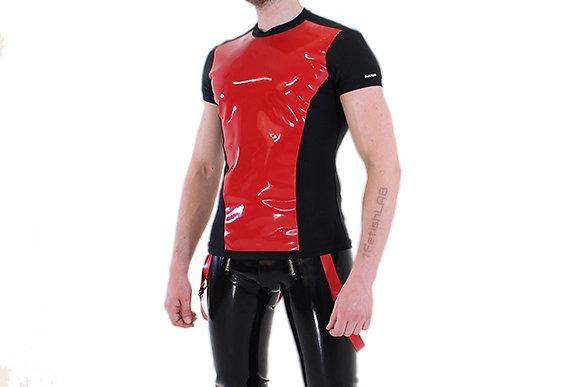 T-Shirt Latex & Lycra rouge