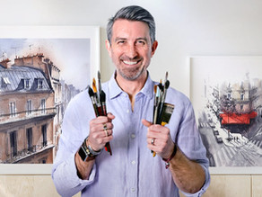 Course Review: Architectural Sketching with Watercolor and Ink by Alex Hillkurtz