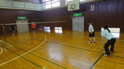 2019/7/27(土)12時-14時_Badminton at 辰巳台公民館_