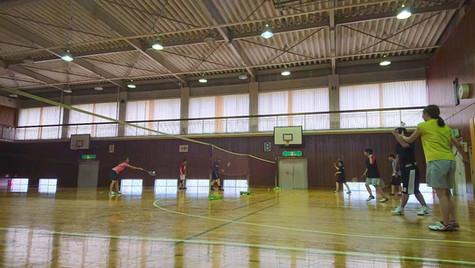 2019/7/21(日)12時-14時_Badminton at 辰巳台公民館_