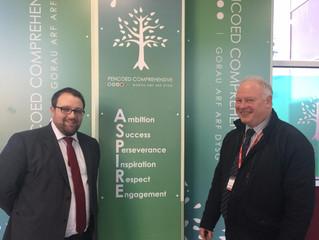 MP Congratulates Pencoed Comprehensive Following Estyn Report