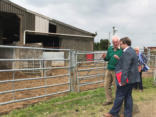MP Discusses Brexit Concerns With Local Farmers