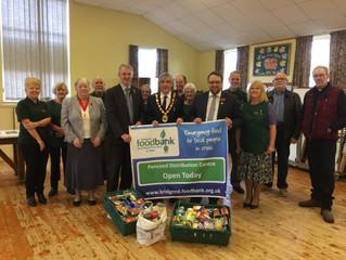 Foodbank opens in Pencoed