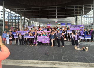 Chris Elmore and Huw Irranca-Davies AM join WASPI's campaign to the Senedd