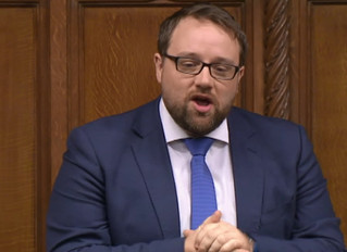 MP Congratulates Local College in Parliament