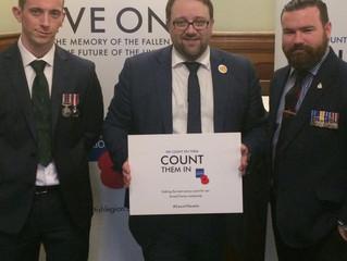 Count Them in Urges Chris Elmore and the British Legion