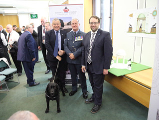 CHRIS ELMORE MP: HONOUR MILITARY WORKING DOGS