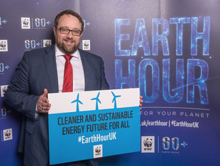 Chris Elmore makes Earth Hour pledge for climate change