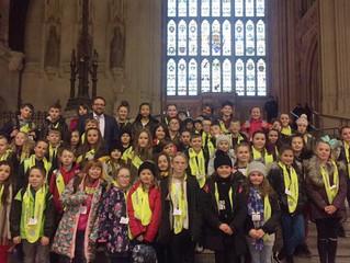 Nantyfyllon Primary School Visit Parliament