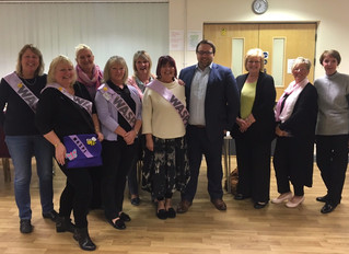 Ogmore WASPI Campaigners Discuss Future Plans with MP