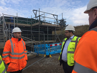 MP Surveys £1.3 million Water investment