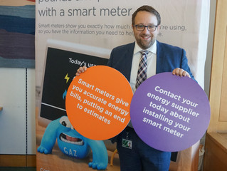 Chris Elmore MP urges constituents to get a smart meter installed