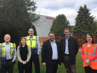 MP Discusses Future with Rockwool