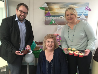 MP Visits Coffee Mornings in Support of Macmillan Cancer Care