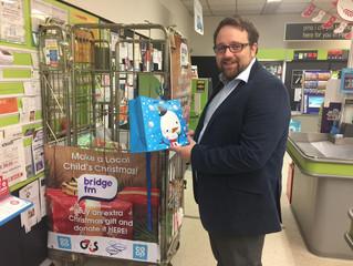 MP Joins Bridge FM's Christmas Toy Appeal