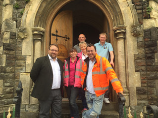 MP Shows Support for Community Furniture Aid