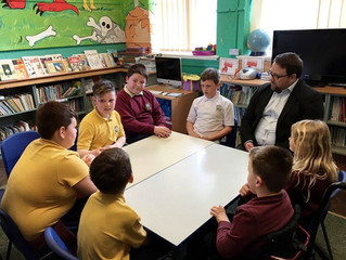 MP Gets Grilled By School Pupils