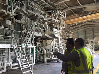 MP Welcomes Paper Mills Long Term Plans