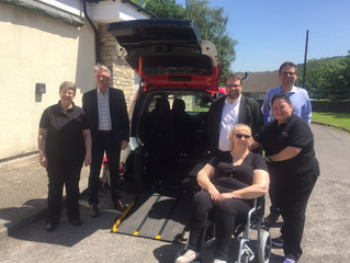 MP and AM Support Business to Help Wheelchair users