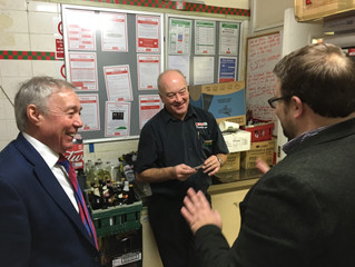 Chris Elmore MP Talks Sustainable Futures for Llanharry Businesses