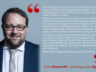 Chris Elmore's Statement on the Tidal Lagoon