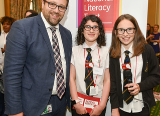 Maesteg pupils grill Chris Elmore MP about Fake News at parliamentary event