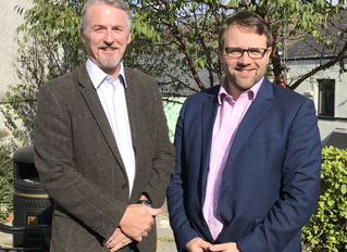 Local MP and AM welcome regeneration kick-start at Maesteg Town Hall