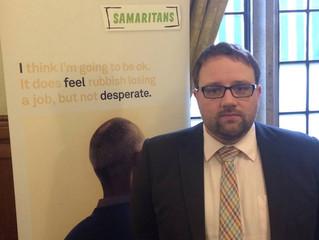 Ogmore MP Promotes Suicide Prevention On Public Transport