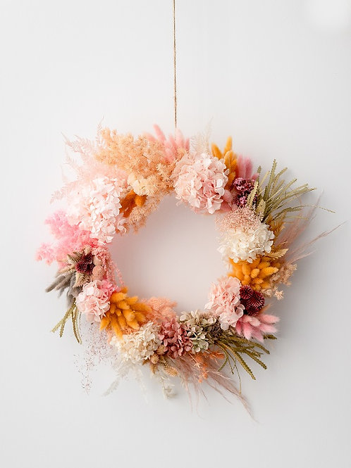 """TUTTI"" PRESERVED WREATH"