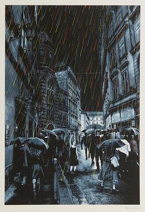 "Roamcouch ""Emotional Rain""print"