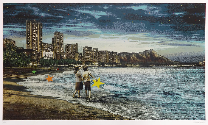 """Roamcouch """"When You Wish Upon A Star Hawaii"""" print"""