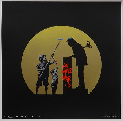 "Roamcouch & Otto Schade ""No More War"" gold edition"