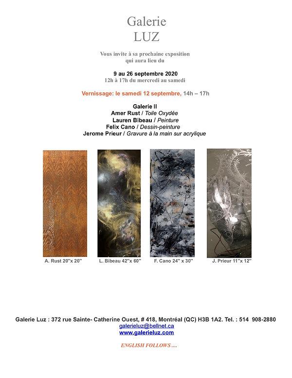 Galerie Luz - expo 9 au 26 sept, 2020- c