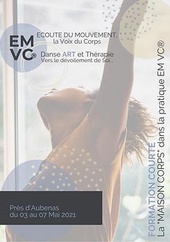 Danse Thérapie EMVC®_Formation Courte du