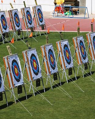 Los objetivos de tiro con arco