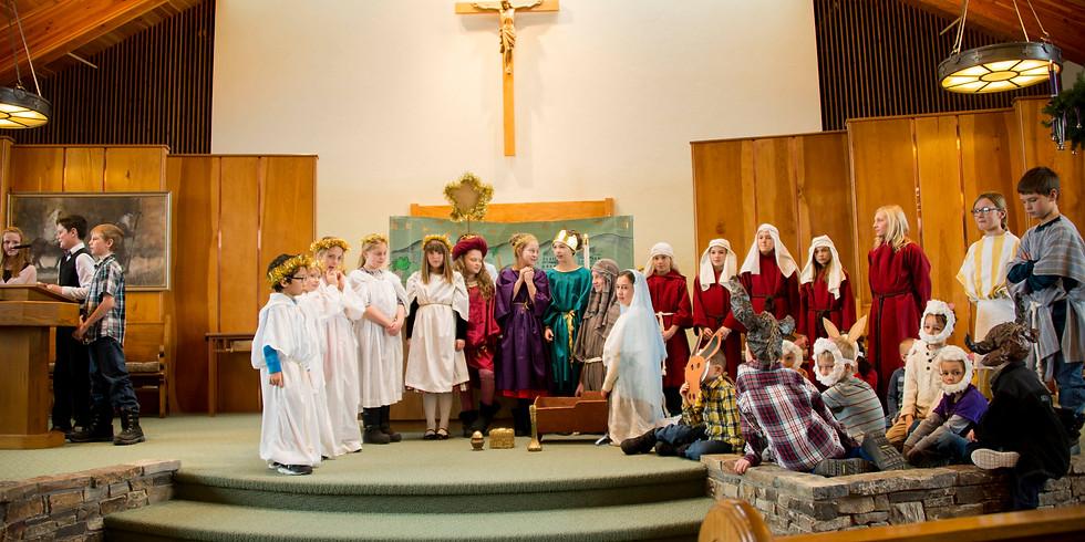 K - 5th Religious Education classes
