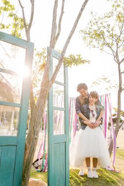 前撮り 結婚式 ブライダル