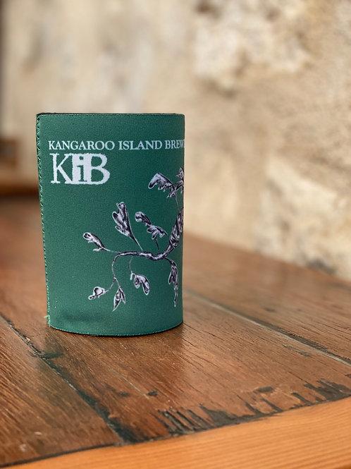 Green KIB stubbie coolers