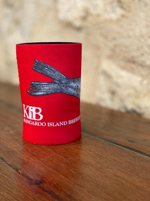 Red KIB Stubbie Coolers