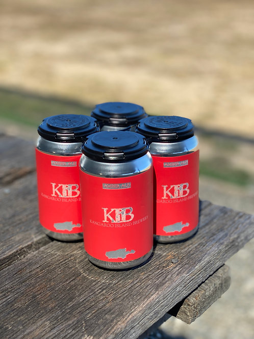 Amber Ale cans 4 x 330ml
