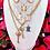 Thumbnail: Repurposed Vintage Gucci GG Rare Heart Key Pendant Necklace