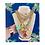 Thumbnail: Repurposed Medium Gold & Peonia Pink XXL Prada Bear Charm Necklace