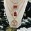 Thumbnail: Repurposed Louis Vuitton HUGE Rare Gold LV Monogram Charm Necklace