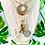 Thumbnail: Repurposed Louis Vuitton LV Monogram Padlock Charm Necklace