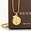 Thumbnail: Repurposed Vintage 1990's Gold Gucci & Vintage Swarovski Bee Charm Necklace