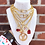 Thumbnail: Repurposed Louis Vuitton Medium Gold LV Skeleton Key Charm Necklace
